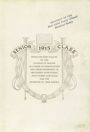 Page 7, 1915 Edition, Moline High School - M Yearbook (Moline, IL) online yearbook collection