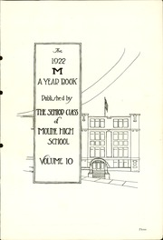 Page 7, 1922 Edition, Moline High School - M Yearbook (Moline, IL) online yearbook collection