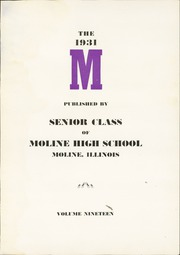 Page 7, 1931 Edition, Moline High School - M Yearbook (Moline, IL) online yearbook collection