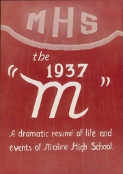 Page 7, 1937 Edition, Moline High School - M Yearbook (Moline, IL) online yearbook collection