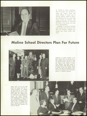 Page 16, 1956 Edition, Moline High School - M Yearbook (Moline, IL) online yearbook collection