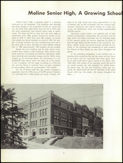 Page 6, 1956 Edition, Moline High School - M Yearbook (Moline, IL) online yearbook collection