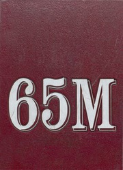 Moline High School - M Yearbook (Moline, IL), Class of 1968, Cover