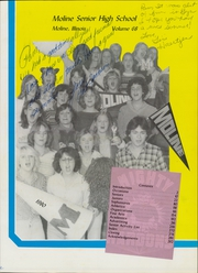 Page 5, 1980 Edition, Moline High School - M Yearbook (Moline, IL) online yearbook collection