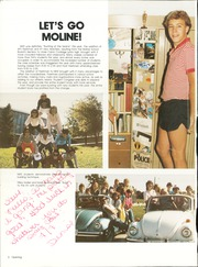 Page 6, 1984 Edition, Moline High School - M Yearbook (Moline, IL) online yearbook collection