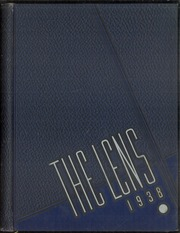 1938 Edition, Maine East High School - Lens Yearbook (Park Ridge, IL)