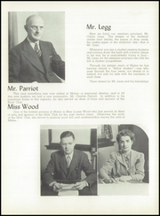 Page 11, 1943 Edition, Maine East High School - Lens Yearbook (Park Ridge, IL) online yearbook collection