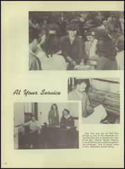 Page 16, 1947 Edition, Maine East High School - Lens Yearbook (Park Ridge, IL) online yearbook collection