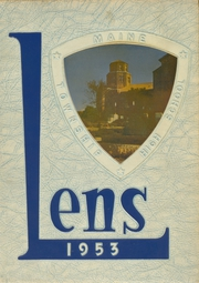 1953 Edition, Maine East High School - Lens Yearbook (Park Ridge, IL)