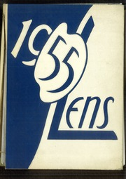 1955 Edition, Maine East High School - Lens Yearbook (Park Ridge, IL)