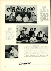 Page 16, 1955 Edition, Maine East High School - Lens Yearbook (Park Ridge, IL) online yearbook collection