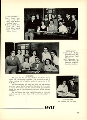 Page 17, 1955 Edition, Maine East High School - Lens Yearbook (Park Ridge, IL) online yearbook collection