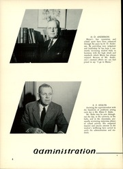 Page 8, 1955 Edition, Maine East High School - Lens Yearbook (Park Ridge, IL) online yearbook collection