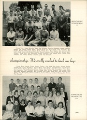 Page 106, 1956 Edition, Maine East High School - Lens Yearbook (Park Ridge, IL) online yearbook collection