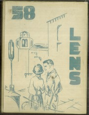 1958 Edition, Maine East High School - Lens Yearbook (Park Ridge, IL)