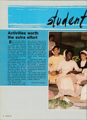 Page 14, 1986 Edition, Thornridge High School - Piper Yearbook (Dolton, IL) online yearbook collection