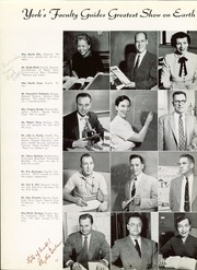 Page 16, 1956 Edition, York Community High School - Ys Tales Yearbook (Elmhurst, IL) online yearbook collection