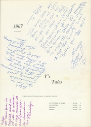Page 5, 1967 Edition, York Community High School - Ys Tales Yearbook (Elmhurst, IL) online yearbook collection