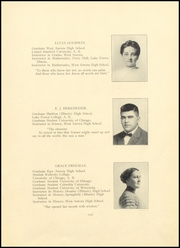 Page 17, 1912 Edition, West Aurora High School - EOS Yearbook (Aurora, IL) online yearbook collection