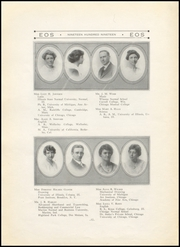 Page 16, 1919 Edition, West Aurora High School - EOS Yearbook (Aurora, IL) online yearbook collection
