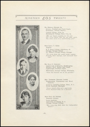 Page 16, 1920 Edition, West Aurora High School - EOS Yearbook (Aurora, IL) online yearbook collection