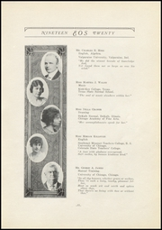 Page 17, 1920 Edition, West Aurora High School - EOS Yearbook (Aurora, IL) online yearbook collection