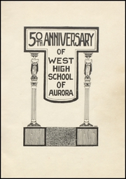 Page 5, 1920 Edition, West Aurora High School - EOS Yearbook (Aurora, IL) online yearbook collection