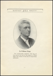 Page 7, 1920 Edition, West Aurora High School - EOS Yearbook (Aurora, IL) online yearbook collection