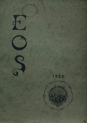 Page 1, 1922 Edition, West Aurora High School - EOS Yearbook (Aurora, IL) online yearbook collection