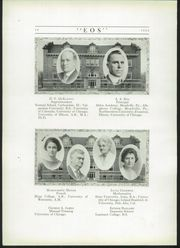 Page 14, 1922 Edition, West Aurora High School - EOS Yearbook (Aurora, IL) online yearbook collection