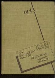 1943 Edition, West Aurora High School - EOS Yearbook (Aurora, IL)