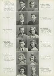 Page 12, 1945 Edition, West Aurora High School - EOS Yearbook (Aurora, IL) online yearbook collection