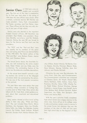 Page 9, 1945 Edition, West Aurora High School - EOS Yearbook (Aurora, IL) online yearbook collection