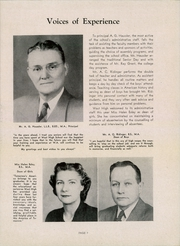 Page 9, 1947 Edition, West Aurora High School - EOS Yearbook (Aurora, IL) online yearbook collection