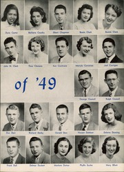 Page 11, 1949 Edition, West Aurora High School - EOS Yearbook (Aurora, IL) online yearbook collection