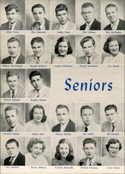 Page 14, 1949 Edition, West Aurora High School - EOS Yearbook (Aurora, IL) online yearbook collection