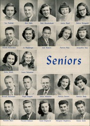 Page 16, 1949 Edition, West Aurora High School - EOS Yearbook (Aurora, IL) online yearbook collection