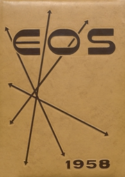 1958 Edition, West Aurora High School - EOS Yearbook (Aurora, IL)