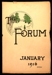 Page 1, 1916 Edition, Senn High School - Forum Yearbook (Chicago, IL) online yearbook collection