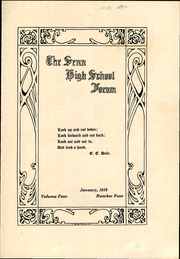 Page 3, 1916 Edition, Senn High School - Forum Yearbook (Chicago, IL) online yearbook collection