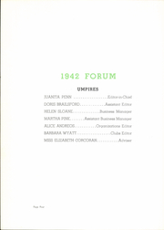 Page 8, 1942 Edition, Senn High School - Forum Yearbook (Chicago, IL) online yearbook collection