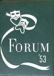Page 1, 1953 Edition, Senn High School - Forum Yearbook (Chicago, IL) online yearbook collection