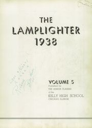 Page 7, 1938 Edition, Kelly High School - Lamplighter Yearbook (Chicago, IL) online yearbook collection