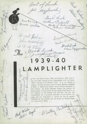 Page 4, 1940 Edition, Kelly High School - Lamplighter Yearbook (Chicago, IL) online yearbook collection