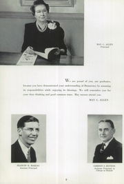 Page 10, 1943 Edition, Kelly High School - Lamplighter Yearbook (Chicago, IL) online yearbook collection