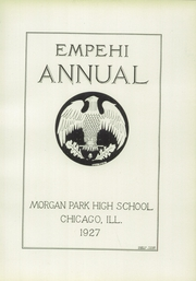 Page 7, 1927 Edition, Morgan Park High School - Empehi Yearbook (Chicago, IL) online yearbook collection