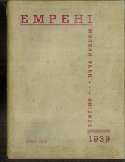 1939 Edition, Morgan Park High School - Empehi Yearbook (Chicago, IL)