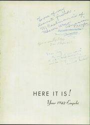 Page 5, 1942 Edition, Morgan Park High School - Empehi Yearbook (Chicago, IL) online yearbook collection