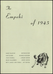 Page 6, 1945 Edition, Morgan Park High School - Empehi Yearbook (Chicago, IL) online yearbook collection