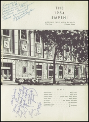 Page 5, 1954 Edition, Morgan Park High School - Empehi Yearbook (Chicago, IL) online yearbook collection